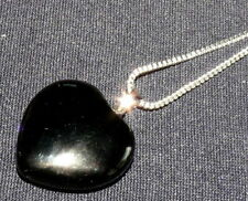 Gioielli di lusso neri ossidiana argento