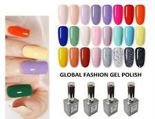 UV LED Nail Gel Polish Soak off Varnish Base Top Color Coat 8ml