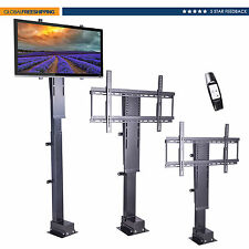 Motorized 32''-60'' Flat Panel TV Bracket Mount Lift Stand Remote Control 26''