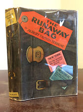 THE RUNAWAY BAG By Albert Payson Terhune - 1925, 1st ed in dj