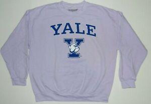 Yale University Bulldogs Crew neck Graphic Sweatshirt Oversized New