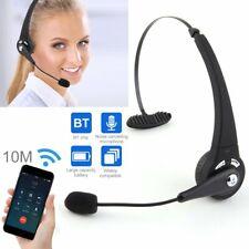 Headset Bluetooth Kopfhörer Kabellos Stereo Computer Ohrhörer mit Mikrofon 2020