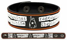 RAGE AGAINST THE MACHINE Rubber Bracelet Wristband RATM Evil Empire Renegades