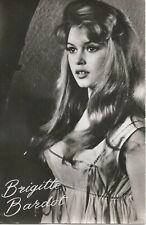 FILM & TV, Autogrammkarte: BRIGITTE BARDOT