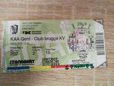 Ticket :  KAA Gent - Club Brugge 23.01.2005