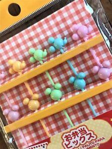 Mickey Mouse Disney  Pick  Food   Picks  Pastel  BENTO aLunch box Accessories