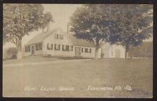 REAL PHOTO POSTCARD FARMINGTON ME/MAINE LILIAN NORDICA HOME/HOUSE 1910'S