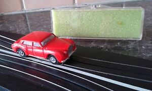 MARUSAN ROLLS ROYCE HO SLOT CAR - Rare Bright RED Colour
