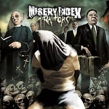 MISERY INDEX Traitors CD US Death Metal / Deathgrind dying fetus aborted assuck