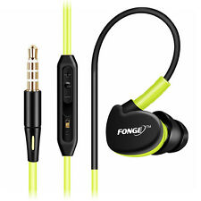 Fonge Earphone Sport Headphone Waterproof HIFI Bass Headset Handsfree With Mic