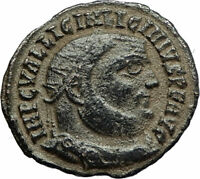 LICINIUS I Constantine I enemy 321AD Authentic Ancient Roman Coin JUPITER i77082