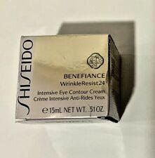 Shiseido Benefiance Wrinkle Resist 24 Intensive Eye Contour 0.51oz Damaged Box
