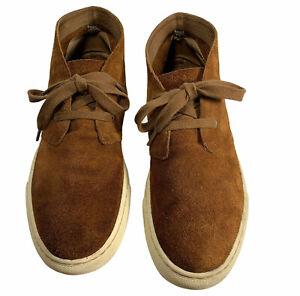 Polo Ralph Lauren Joplin Brown Suede Oxford Chukka Desert Boots Mens US 12 D