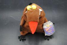 VTG Angry Beavers Daggett Plush Vintage 1998 NICKELODEON Star Beans Beanie Bag