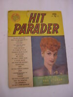 Hit Parader Magazine Back Issue April 1953 Lucille Ball