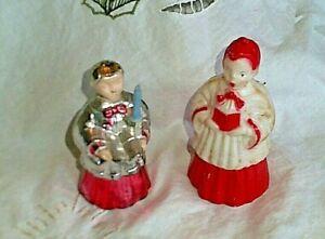 Vintage celluloid choir boy Christmas ornament 1950/'s kitsch retro Holiday seasonal