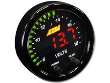 AEM X-Series Volts Gauge 8-18V 30-0303