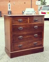 Arts & Crafts Chest Of Drawers