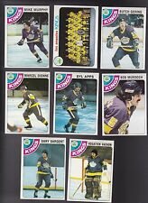 1978 Topps Team SET Lot of 8 Los Angeles KINGS NM/MT Rogie APPS DIONNE GORING