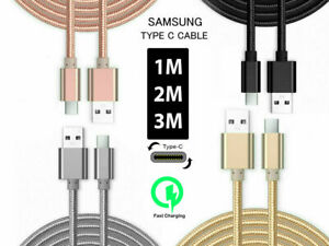 Fast For Samsung Galaxy S11 S20 S10 S9 S8 USB Type C Sync Charger Charging Cable