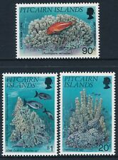 1994 PITCAIRN ISLANDS CORALS SET OF 3 FINE MINT MNH/MUH