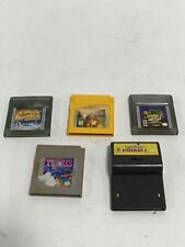 Lot of 5 Nintendo Game Boy Video Games-Not Tested