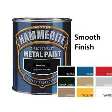 HAMMERITE Direct To Rust Metal Paint 750ml | All Colours Hammered Smooth & Satin