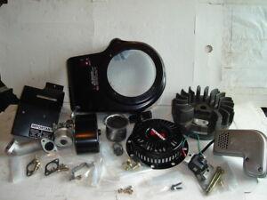10HP 8HP Genuine Tecumseh Engine Carburetor Coil Intake Muffler Recoil Flywheel