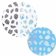 Nail Art FingerNagel Sticker Water Decal Transfer Hawaii Palme Aloha Blume NEU