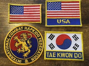 Hapkido Federation patch! Free Shipping!!