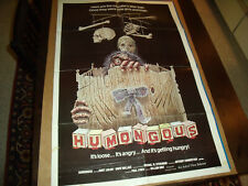 Original Movie Poster HUMUNGOUS 1982 Folded & single sided