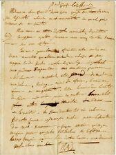 Napoléon BONAPARTE à Josephine