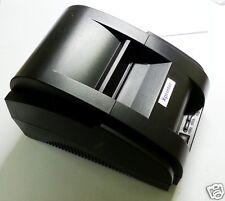 High speed black USB Port  58mm Thermal printer POS receipt bill cash printer