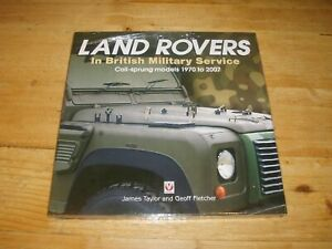 Land Rovers in British Military Service  COIL Sprung Models - Still Sealed