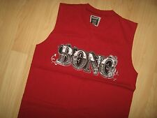 Billabong Tank Top - Red Surf Surfer Beach Bong Logo Ocean Muscle T Shirt Small