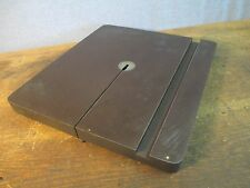 """Vintage Craftsman 12"""" Band Saw Part - Table w/ Insert 14 1/4"""" x 12 1/2 /  FR 145"""