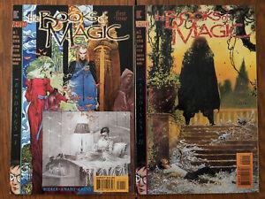 THE BOOKS OF MAGIC #1-2 (1994, Vertigo) Tim Hunter origin series