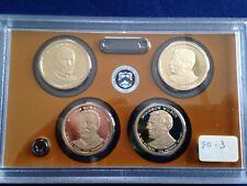 2013-S Presidential Gem Proof Dollar 4 Coin Set E5739