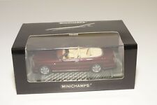 * MINICHAMPS BENTLEY AZURE METALLIC MAROON MINT BOXED