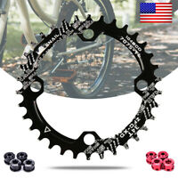 SNAIL 32-42t BCD104 Narrow Wide Round/Oval MTB BMX Bike Crankset Chainring ring