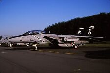 Original colour slide of F-14B Tomcat 163219/AA-201 of VF-103 US Navy