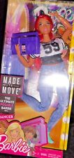 Barbie Made to Move latino curvy dancer, cool jeans & top, great ghetto blaster