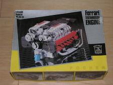 1/8 Scale Pocher Rivarossi Engine Kit Ferrari Testarossa KM/51 Complete !!