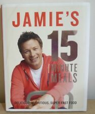 JAMIE'S 15 MINUTE MEALS COOK BOOK COOKBOOK HARDCOVER VERY GOOD CONDITION