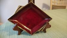 VINTAGE CARLTON WARE ROUGE ROYALE DIAMOND SHAPED SAUCER