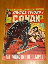 CONAN SAVAGE SWORD #18 BRITISH WEEKLY 1975 JULY 5TH