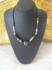 vintage unisex natural handmade north african necklace