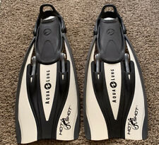 Aqualung Hot Shot Scuba Diving Fins-size Small Perfect Condition Travel Snorkel