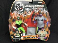WWE Jakks Adrenaline Wrestling Action Figures Superheroes The HURRICANE & ROSEY