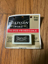 Old Wilkinson Sword Razor Blades